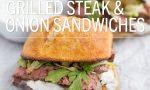 Grilled Steak & Onion Sandwiches