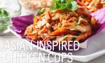 Asian-Inspired Chicken Cups