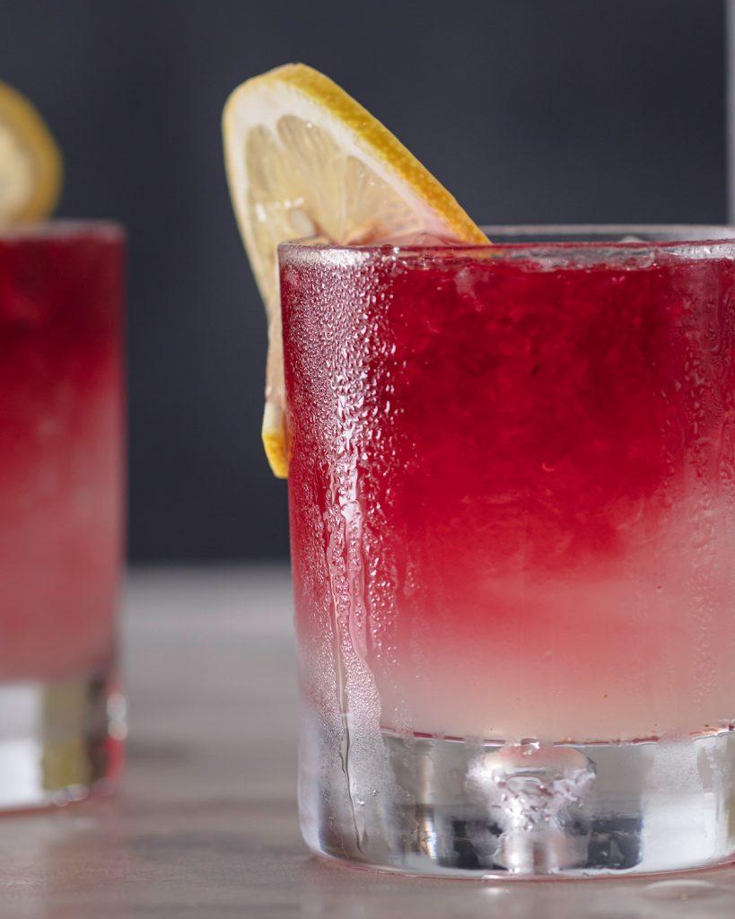Hibiscus & Lemon Cocktail