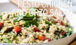 Pesto Chicken and Orzo Salad