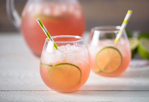 Limeade Kombucha Cocktail