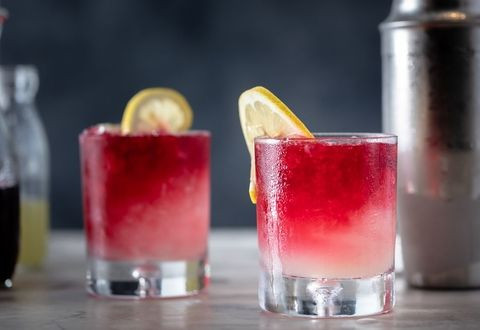 Hibiscus & Lemon Cocktail