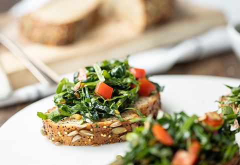 Power Greens Bruschetta