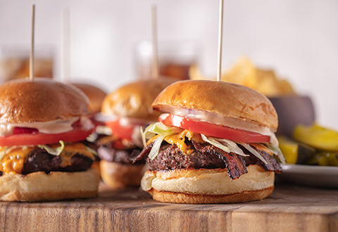 Best Grilled Burger & Burger Sauce