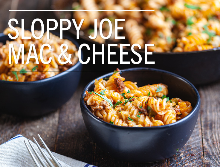 Sloppy Joe Mac & Cheese