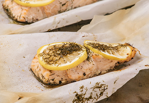 Lemon Dill Salmon Packets