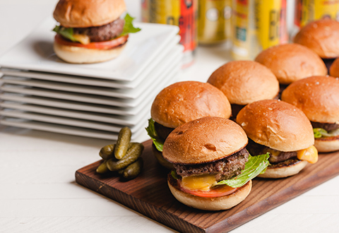 Juicy Lucy Sliders