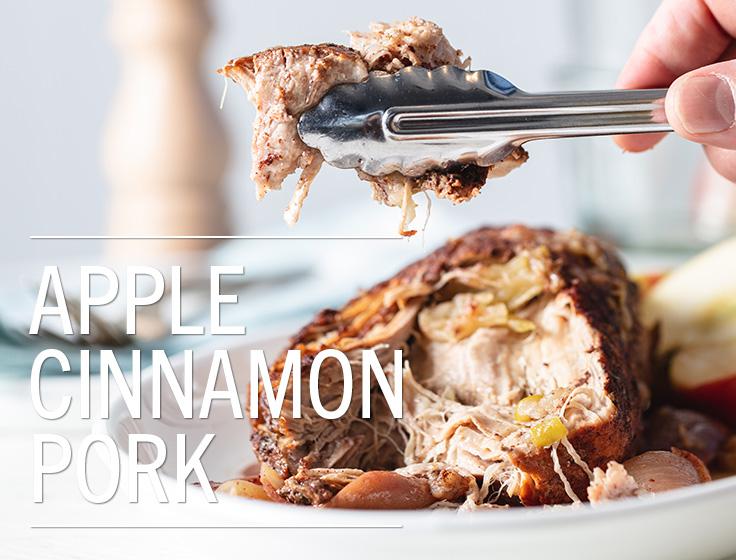 Apple Cinnamon Pork