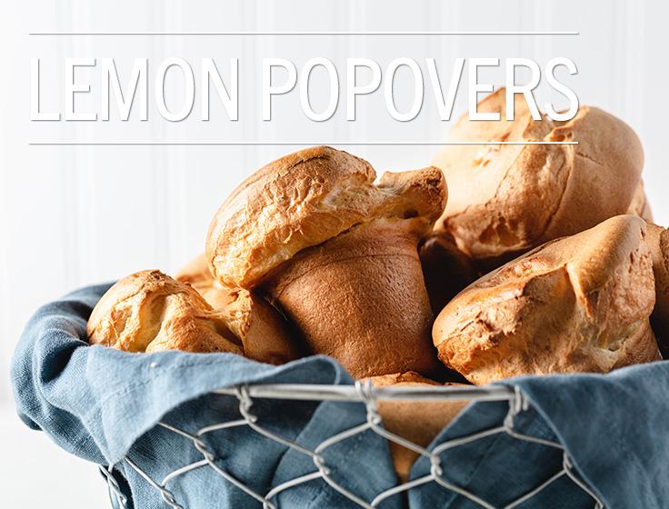 Lemon Popovers