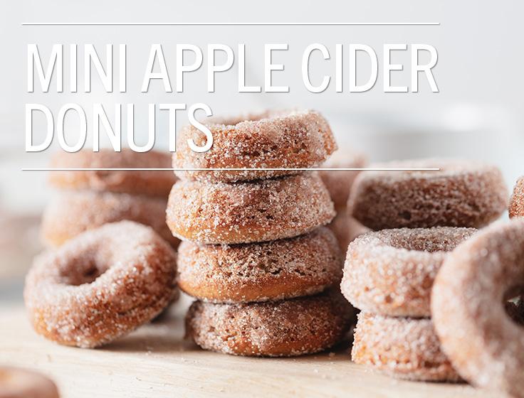 Mini Apple Cider Donuts