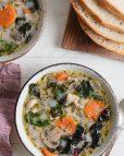 Chicken Vegetable Wild Rice Soup