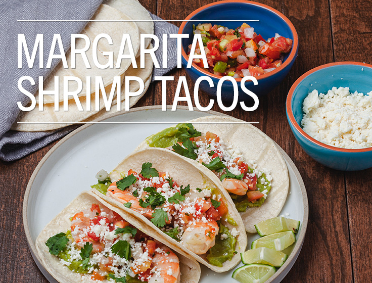 Margarita Shrimp Tacos