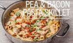 Pea & Bacon Pasta Skillet