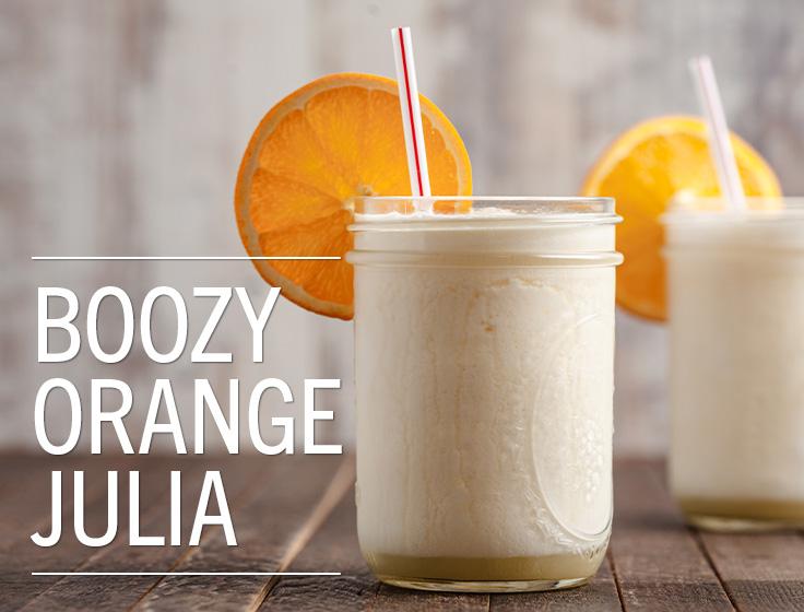 Boozy Orange Julia