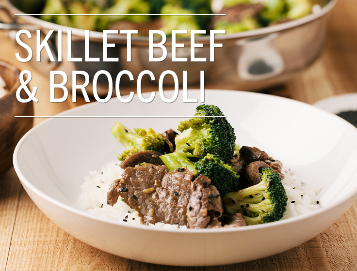 Easy Skillet Beef and Broccoli