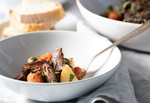 Old-Fashioned Pot Roast in the Slow Cooker