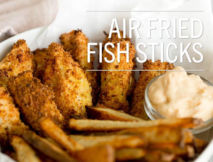 Air Fried Fish Sticks