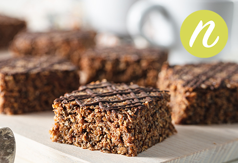 Raw Chocolate Super Seed Breakfast Bar