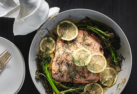 Butter-Roasted Salmon