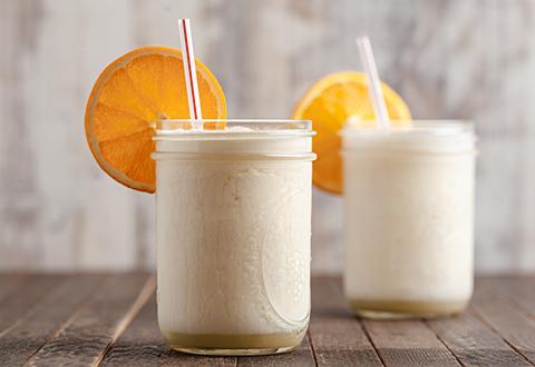 Boozy Orangesicle Slushy