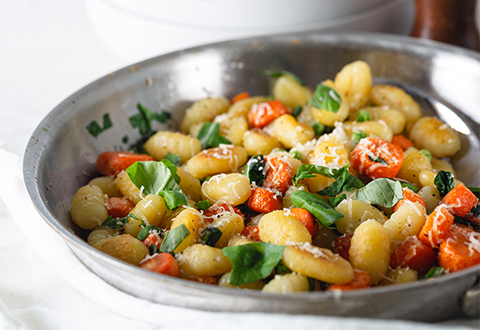 Gnocchi with Spring Vegetables