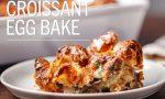 Croissant Egg Bake