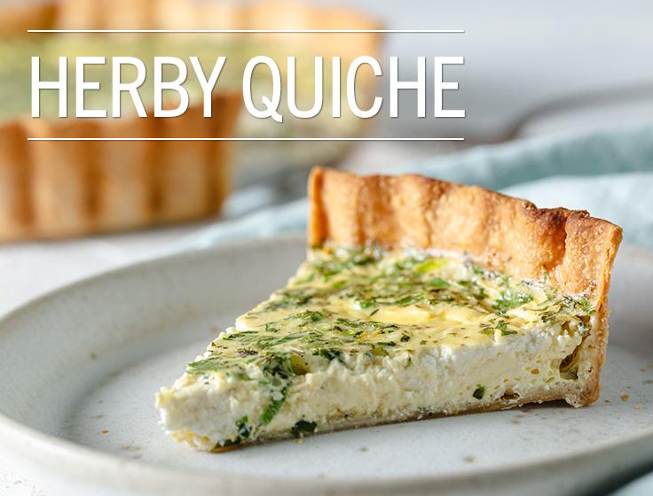 Herby Quiche