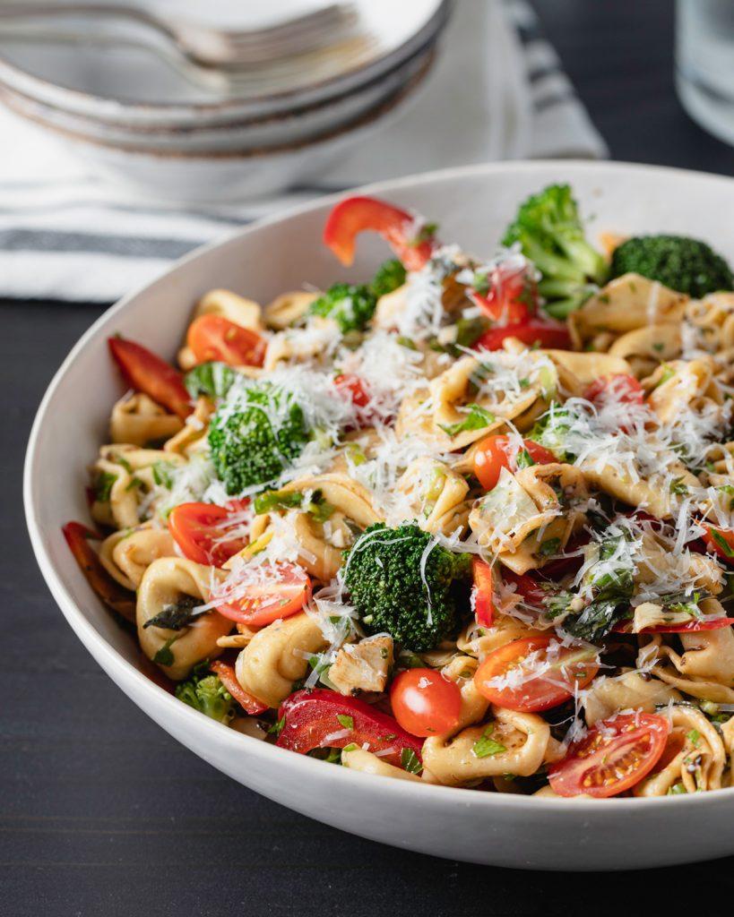 Tortellini & Veggie Salad