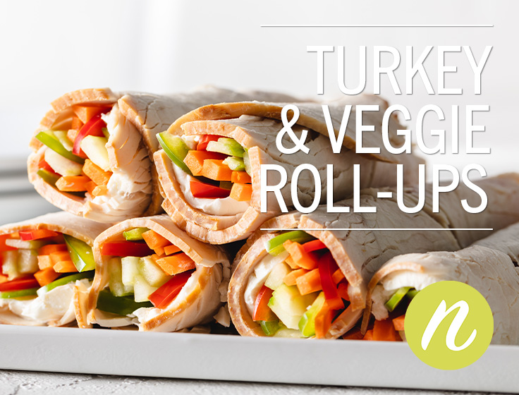 Turkey & Veggie Roll-Ups
