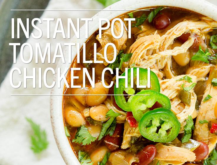 Instant Pot Tomatillo Chicken Chili