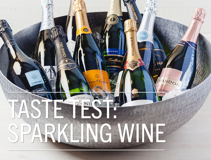 Taste Test: Sparkling Wine