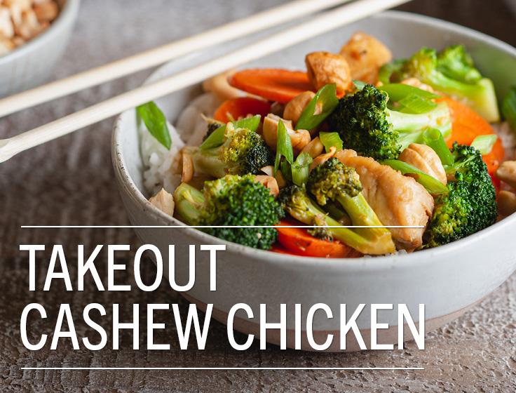 Takeout Cashew Chicken