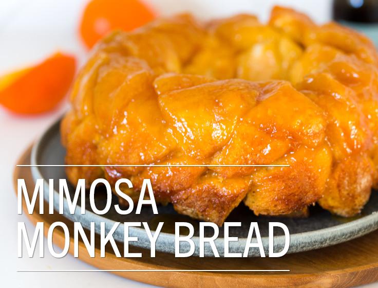 Mimosa Monkey Bread