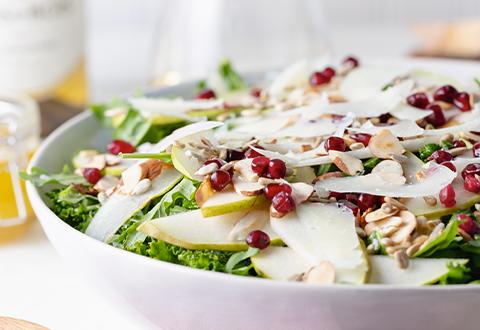 Pear & Kale Salad