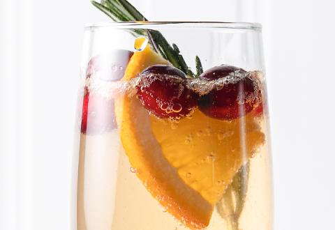 Sparkling Cranberry Cocktail