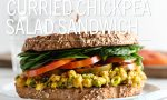 Curried Chickpea Salad Sandwich