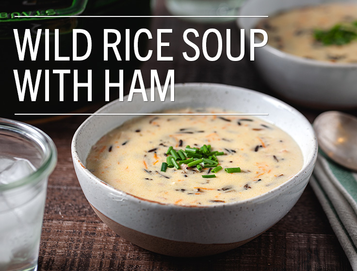 L&B Wild Rice Soup with Ham