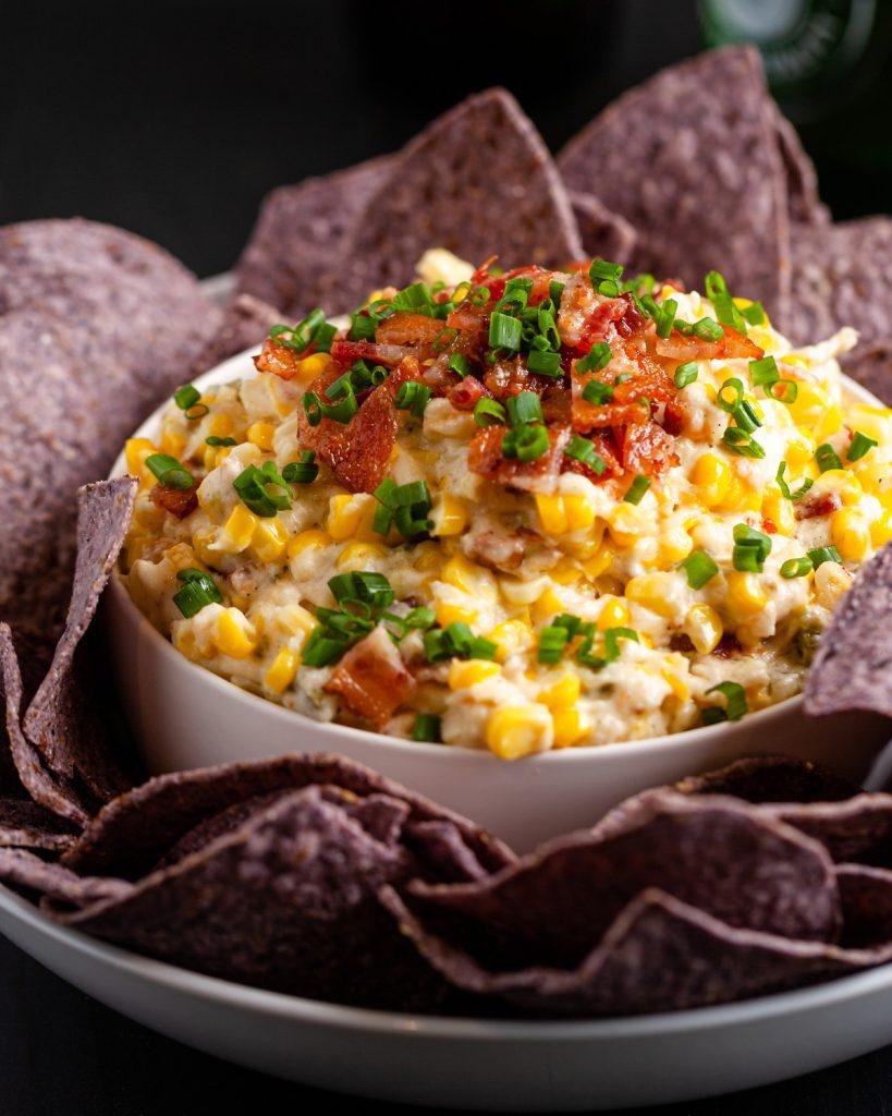 Slow Cooker Corn & Jalapeño Dip