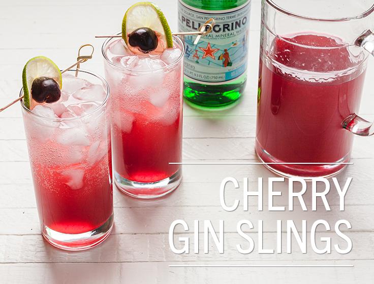 Cherry Gin Slings