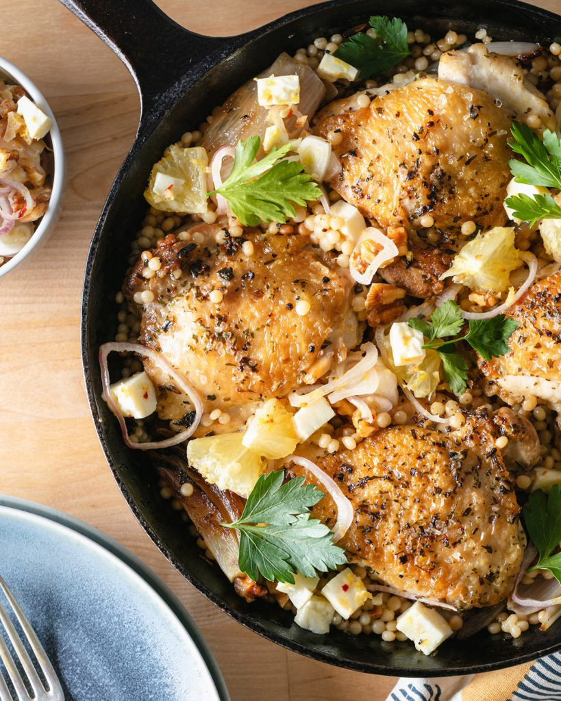 Moroccan Spice Skillet Chicken