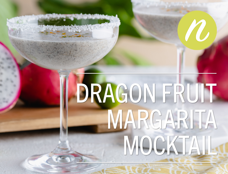 Dragon Fruit Margarita Mocktail