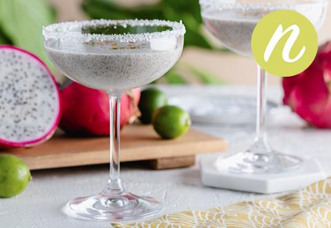 Dragon Fruit Margarita Mocktail