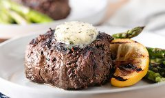 Grilled Beef Tenderloin & Asparagus