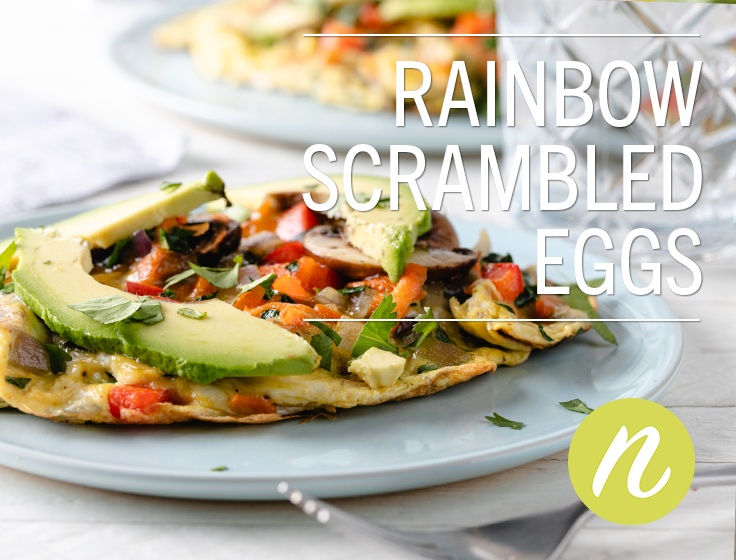 Rainbow Scrambled Eggs