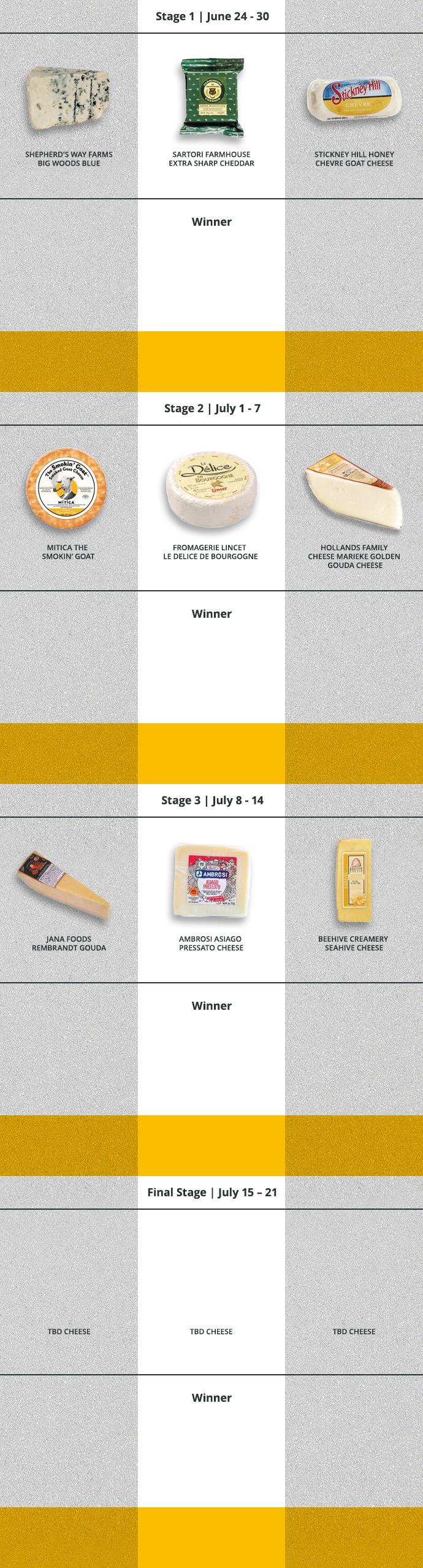 Follow The Race June 24 - July 21!