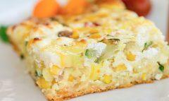 Summer Vegetable Egg Bake