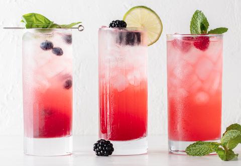 Berry Hard Seltzer - 3 Ways